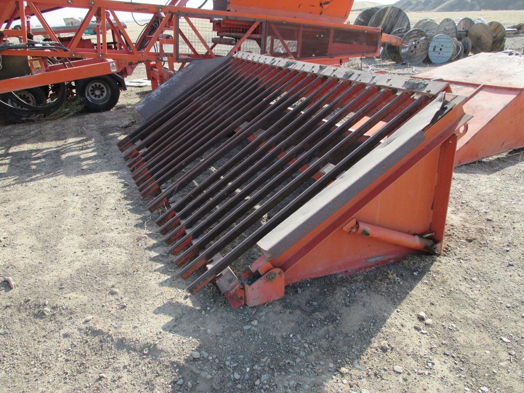 5 u0026 39  wide x 10 u0026 39  long 2 deck finlay 390 portable screening plant